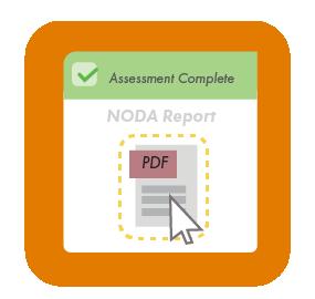NODA PDF report available in customer portal.